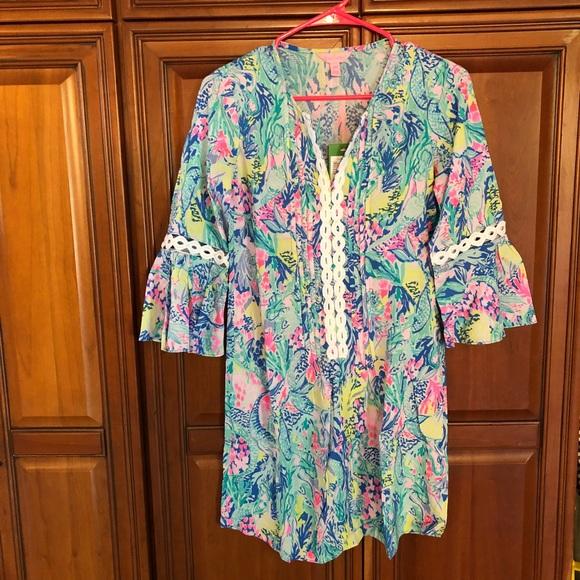 b21170ac956 Lilly Pulitzer Dresses   Nwt Hollie Tunic Dress Xxs   Poshmark